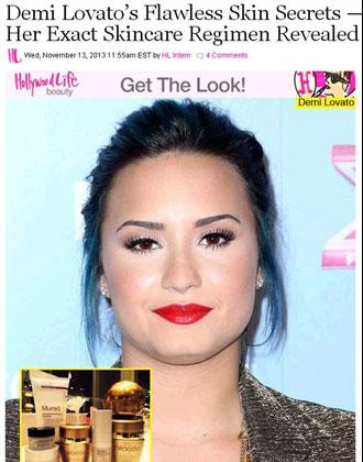 Demi-Lovato's-Flawless-Skin-Secrets