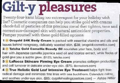 Natural Health Magazine Feature