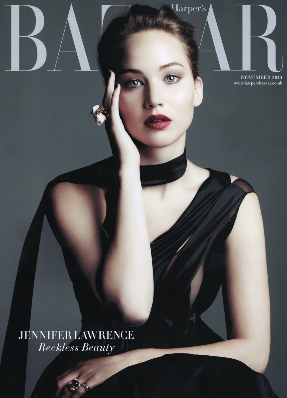 harpers bazaar uk jennifer lawrence