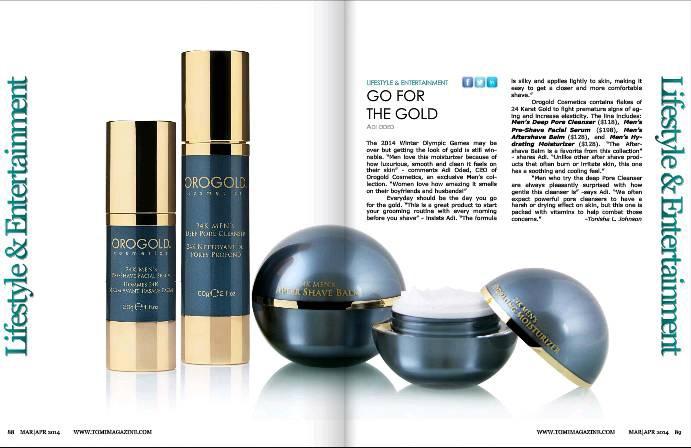 tomi magazine feature