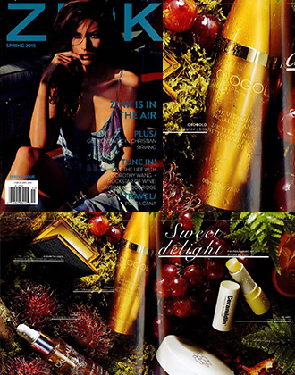 Zink Magazine Features OROGOLD 24K Vitamin C Facial Cleanser