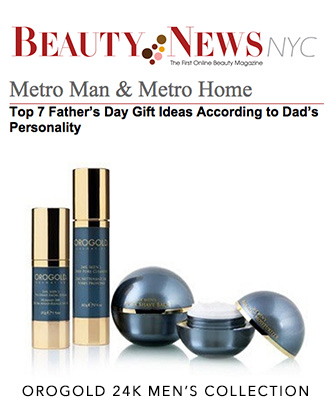 OROGOLD 24K Men's Collection on BeautyNewsNYC.com