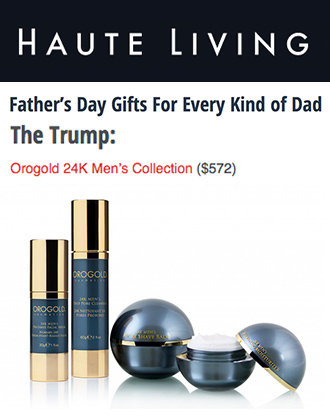 OROGOLD Men's Collection on HauteLiving.com